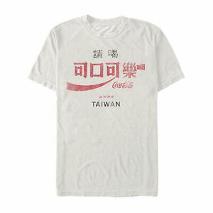 Coca Cola Made in Taiwan Mens Graphic T Shirt