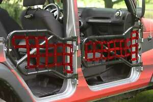 Fits Jeep Wrangler Jk Red Door Trail Tube Made In Usa J0043667