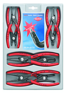 Knipex Tools Lp 00 20 04 Sb 8 Pc Precision Circlip Snap Ring Plier Set New
