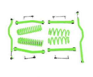 Fits Jeep Wrangler Jk Neon Green Suspension Lift Kits Made In Usa J0046888