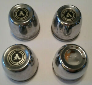 4 Used Appliance Wheels Center Caps Push In Type For 3 125 Hole