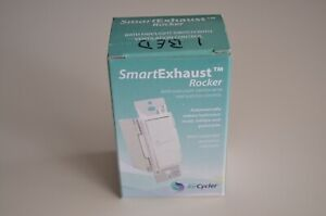 Aircycler Smartexhaust Rocker Switch White Sed s Bath Fan Light Ventilation
