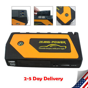 69800mah 4usb Car Jump Starter Pack Booster Charger Battery Power Bank Fast Ship