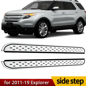 For Ford Explorer 2011 2019 Value Aluminum Running Board Side Step Nerf Bar Rail