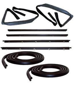 Door Weatherstrip Seal Kit For 83 94 Chevy S10 Blazer Gmc S 15 Jimmy