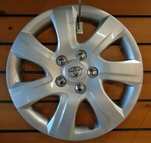 1 New Wheel Cover Hubcap Fits 2010 2011 Toyota Camry Style 16 Silver Steel Whee