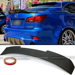 For 06 13 Is250 Is350 Jdm Unpainted R Style Vip Rear Window Roof Wing Spoiler