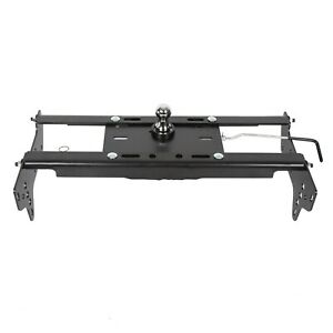 Complete Underbed Gooseneck Trailer Hitch System For 99 16 Ford F250 F350