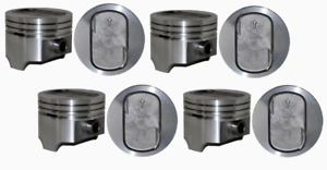 Standard Bore Dish Pistons Set For 1977 1993 Ford 5 8l 351 351w Windsor