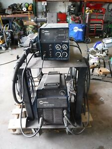 Miller Xmt 304 Series Dc Inverter Arc Welder Beautiful Unit