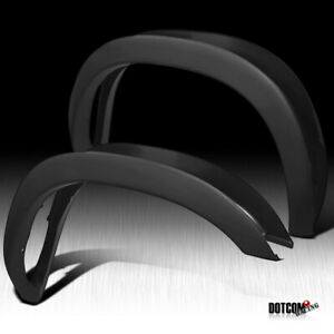 For 2002 2008 Dodge Ram 1500 2500 3500 Pickup Black Factory Style Fender Flares
