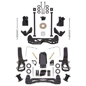 Pro Comp Block Kit 6 In Fits 2012 2017 Ram 1500 Expk2084b