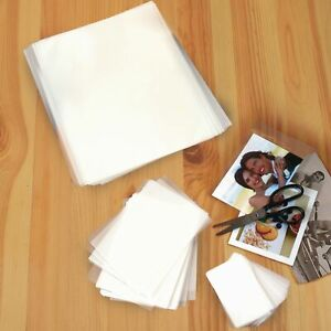 Assorted Thermal Laminating Pouches Photo Card And Letter Size Set Of 100