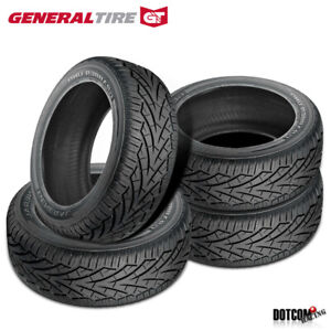4 X New General Grabber Uhp 255 55r19 111v Summer Performance Tire