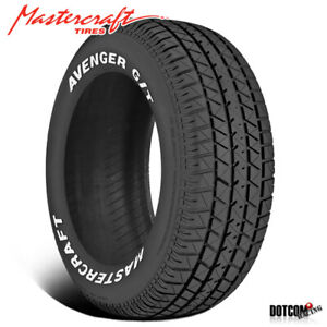 1 X New Mastercraft Avenger G T 225 70r15 100t Muscle Car Performance Tire