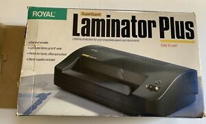 Royal Superguard Laminator 9 Inch Width Capacity Tested And Working