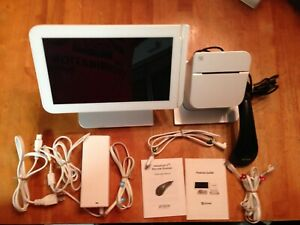 Clover Pos System With Thermal Receipt Printer And Barcode upc Scanner