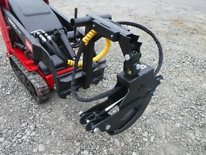 Branch Manager 56 T1001 Rotating Log Grapple Fits Mini Skid Steer Toro Dingo
