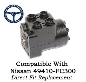 Replacement Steering Valve For Nissan Forklift 49410 fc300