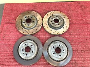 2016 2018 Chevrolet Camaro Ss 6 2l Front Rear Brake Rotor Rotors Set Oem
