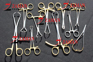 Set Of 10 Orthopedic Surgical Veterinary Instruments Excellent Quality By Zp
