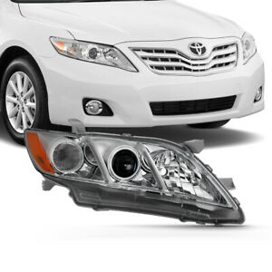 Right Passenger Side For 07 09 Toyota Camry Projector Headlight Lamp Chrome