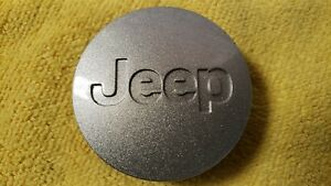 1 2002 2014 Jeep Liberty Grand Cherokee Wrangler Commander Center Cap Silver