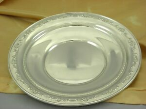 Gorham Sterling Silver Plate Charger 1123 Circa 1980 265 Gr Best Deal