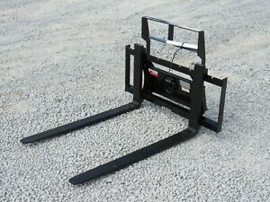 42 Long Bradco Mini Skid Steer Pallet Forks Attachment Fits Toro Dingo Vermeer