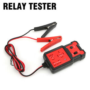 12v Car Electronic Relay Tester Battery Checker Tool Automotive Diagnostic Tool