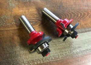 2 Piece Freud Router Bit Set 99 260 Excellent Condition
