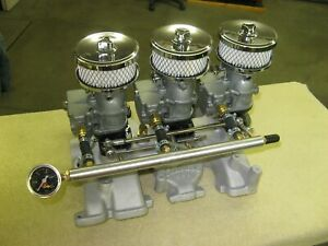 Vintage Edelbrock Intake For Ford Y Block 272 292 And 312 Ci