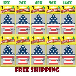 Air Freshener Vanilla Pride Little Trees Made In Usa Pack Of 12 24 48 96 144