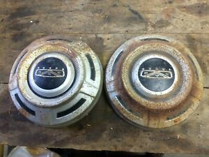 Ford Truck Van 3 4 Hubcaps F250 F350 Dog Dish 12 Painted Users 68 74 69 70 71