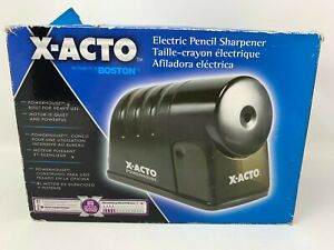 X acto Powerhouse Electric Pencil Sharpener Black