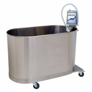 Whitehall Mobile Clinic Whirlpool Hi boy 105 Gallon Hydrotherapy Tub Stainless
