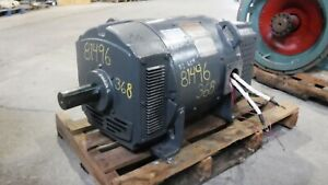 65 Kw General Electric Dc Generator 1800 Rpm Fr 368at Dp 500 V Eok