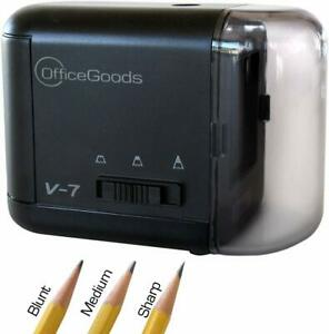 Electric Amp Battery Operated Pencil Sharpener For Home Office Amp School