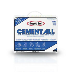 Cts Rapid Set Cement All Multi purpose Construction Material 25lbs