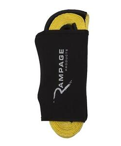 Rampage 86687 Tow Strap Recovery 3 In X 30 In Rated 30 000 Lbs Each