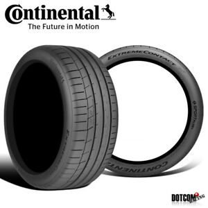 2 X New Continental Extremecontact Sport 295 35r18 99y Performance Summer Tire