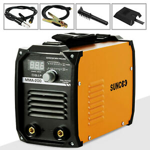 Mma 200a Arc Welding Machine 110v 220v Portable Mini Stick Dc Inverter Welder