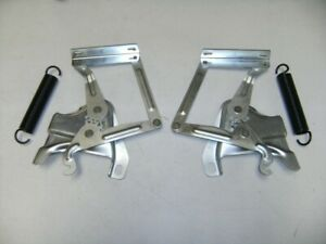 1958 1959 Chevy Pickup Truck Hood Hinge W Spring Set Right And Left Hand Sides