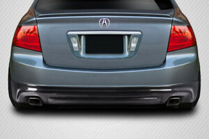 04 08 Acura Tl Aspec Look Carbon Creations Rear Bumper Lip Body Kit 115429