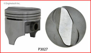 Enginetech P3027 8 040 Piston Gm Chev 6 5l 396 Dome Top