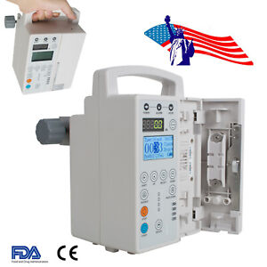 Usa Veterinary Infusion Pump Iv Fluid Infusion With Audible And Alarm For Animal