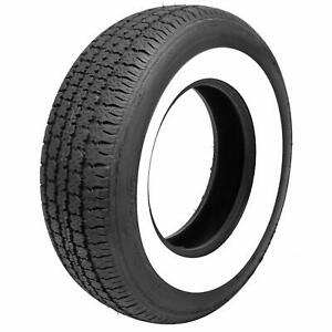 Set Of 4 Coker Classic 2 5 In Whitewall Collector Radial Tire 225 75 14 546090