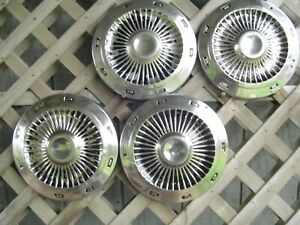 1963 63 Vintage Ford Galaxie 500 Fairlane Ltd Police Truck Hubcaps Wheel Covers