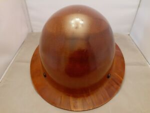 Msa Skullguard Full Brim Hard Hat With Ratchet Suspension Natural Tan Great
