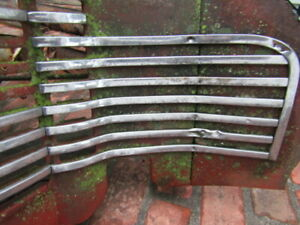 1947 1948 1949 47 48 49 Interhational Kb 1 Grill Grille Stainless Rh 7 Bars